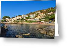 Seccheto - Elba Island Greeting Card