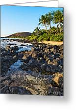Secluded Beach Greeting Card