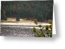 Secluded Cabin Greeting Card