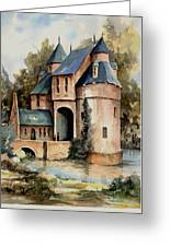 Secluded Castle Greeting Card