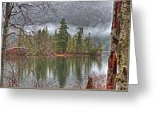 Secluded Cove Greeting Card