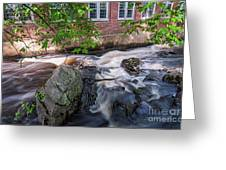 Secluded Falls #2 Greeting Card