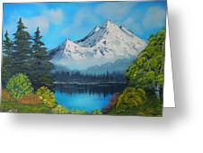 Secluded Lake Greeting Card