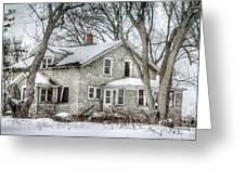 Secluded Old House Greeting Card