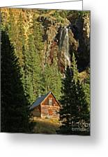 Secluded Tranquility Greeting Card