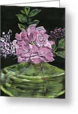 Second Hand Rose Greeting Card