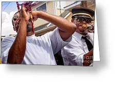 Second Line Colour Greeting Card