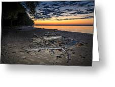 Seconds Before Potomac Sunrise Greeting Card