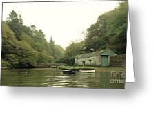 Secret Boathouse Greeting Card
