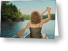 Secret Cove Greeting Card by Holly Kallie