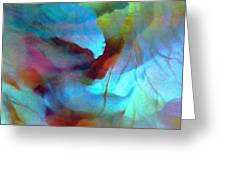 Secret Garden - Abstract Art Greeting Card