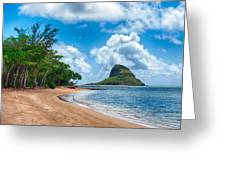 Secret Island Beach And Chinaman's Hat Greeting Card
