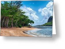 Secret Island Beach Greeting Card