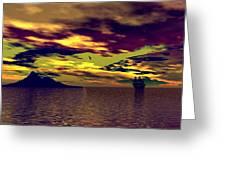 Secret Island Greeting Card
