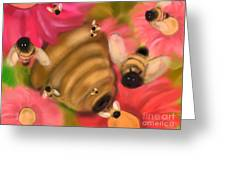 Secret Life Of Bees Greeting Card