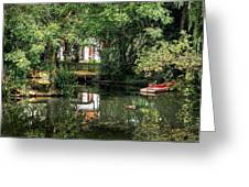 Secret Retreat - River Reflections Greeting Card
