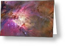 Secrets Of Orion Greeting Card
