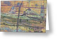 Secured Planes Greeting Card