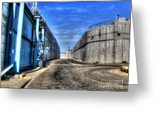 Security Wall Greeting Card