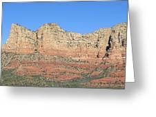 Sedona  Arizona  Mountain  Four Greeting Card