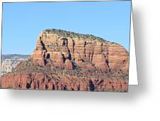 Sedona  Arizona  Mountain  Three Greeting Card