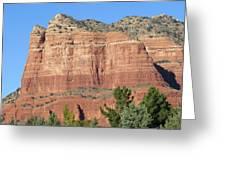 Sedona  Arizona  Mountain  Two Greeting Card