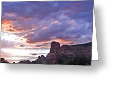 Sedona Arizona Sunset Greeting Card