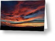 Sedona Az Sunset 1 Greeting Card