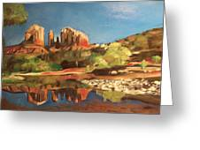 Sedona Cathedral Rock Greeting Card
