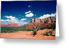 Sedona Desert Scene Greeting Card