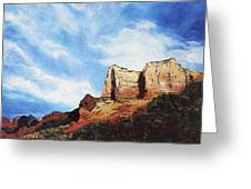 Sedona Mountains Greeting Card