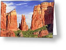 Sedona Red Rock Cathedral Rock State Park Greeting Card
