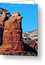 Sedona Rock Formation 030515a Greeting Card