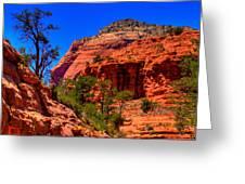Sedona Rock Formations V Greeting Card