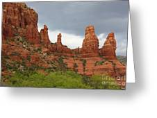 Sedona Sandstone Greeting Card
