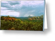 Sedona Storm Greeting Card