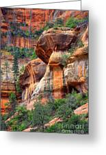 Sedona Stripes Greeting Card