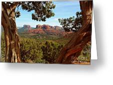Sedona Vista Greeting Card