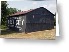 See Rock City Barn Greeting Card