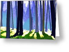 See The Forest For The Trees Greeting Card