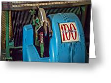 Seeburg Select-o-matic Jukebox Greeting Card