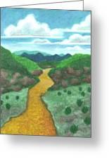 Seeded Waterway Greeting Card