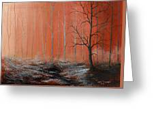 Seeing Shades Of Red Greeting Card