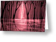 Seeing The Light Greeting Card by Ann Marie Bone