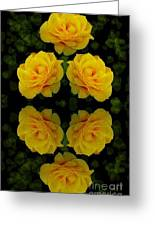 Seeing Yellow 1 Greeting Card