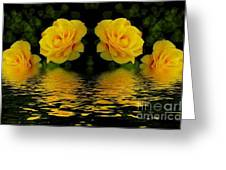 Seeing Yellow 2 Greeting Card