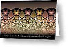 Seek Peace Greeting Card