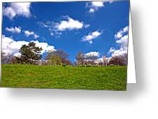 Sefton Park Liverpool In Spring Time Greeting Card
