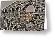 Segovia Aqueduct - Spain Greeting Card