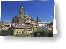 Segovia Spain Greeting Card